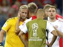 World Cup 2018: Peter Schmeichel thẫn thờ nhìn con trai Kasper gục ngã cùng ĐT Đan Mạch