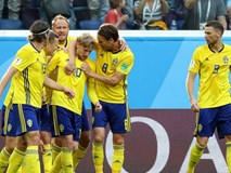 Thụy Điển thời hậu Ibrahimovic đã vào tứ kết World Cup 2018
