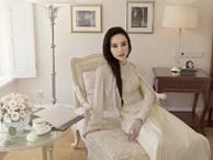 Không khoe thân táo bạo, Angela Phương Trinh trở lại hình ảnh 'tiểu thư đài các' trong tà áo dài cách tân