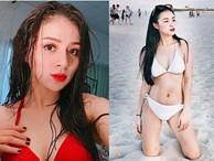 Cô vợ hot girl của Đỗ Duy Nam nóng bỏng bất ngờ sau sinh
