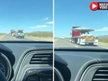 Video: Phát hiện xe tải chở UFO hướng về Khu vực 51 bí ẩn