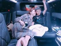Subeo vừa trở về sau chuyến nghỉ dưỡng cùng bố, Hồ Ngọc Hà đã đón con đi du lịch xứ cờ hoa