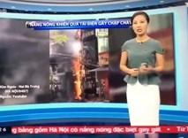 Khán giả bực mình vì VTV 'mang' vụ cháy cột điện ở Huế ra Hà Nội