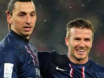 Ibrahimovic gạ cá cược trận Anh vs Thụy Điển, Beckham đáp trả hài hước
