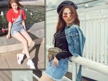 Ngọc Trinh gợi ý cách mix&match trang phục jeans mặc cả tuần siêu 'chất'
