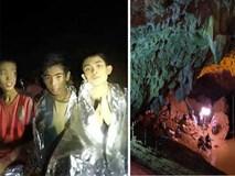 8 cầu thủ nhí Thái Lan còn kẹt hang trông ngóng được cứu ra ngoài