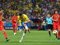 SỐC: Fan Brazil ném đá chai lọ vào xe bus chở Neymar và đồng đội ngày về nước