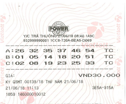 Lộ diện tỷ phú Quảng Bình trúng 44 tỷ Jackpot Power 6/55-1