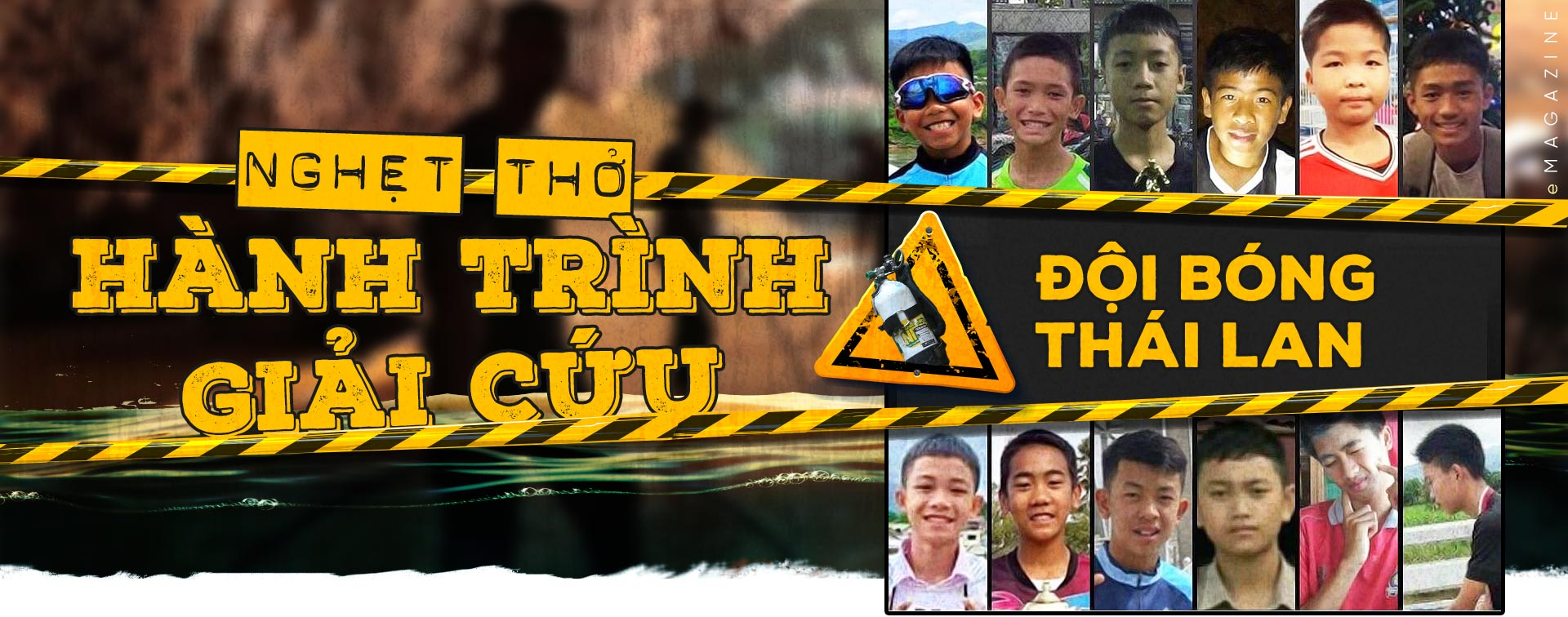 Nghẹt thở hành trình giải cứu đội bóng Thái Lan