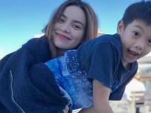 Tròn 1 năm ngày yêu Kim Lý, Hồ Ngọc Hà đăng ảnh bình yên bên con trai và tuyên bố