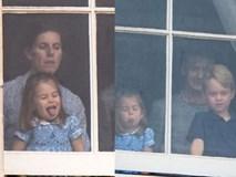 Công chúa Charlotte tiếp tục gây sốt với biểu cảm