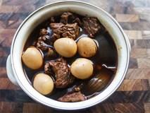 Thêm một cách chế biến thịt kho trứng ngon