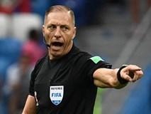 Trọng tài may mắn của Pháp và Croatia bắt trận chung kết World Cup 2018
