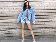 Tăng Thanh Hà gây thích thú khi phối jeans trẻ trung như gái chưa chồng