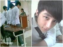 Dân mạng 'đào mộ' ảnh Sơn Tùng M-TP bị cô giáo hỏi tội khi còn 'mài mông' trên ghế cấp 3