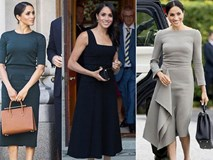 Meghan Markle bị chỉ trích khi tiền trang phục trong 2 tháng của cô còn nhiều hơn tủ quần áo cả năm của Kate Middleton