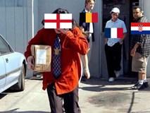 Ảnh chế đội tuyển Anh tay trắng về nước tràn ngập mạng xã hội