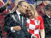 Chân dung nữ tổng thống giống người mẫu bikini gây chú ý ở chung kết World Cup