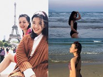 Mới ngày nào bé mũm mĩm, con gái út của nghệ sĩ Chiều Xuân giờ đã lớn phổng, tự tin diện bikini hút mắt