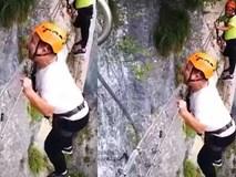 Khi bạn sợ độ cao mà bị bắt đi leo núi