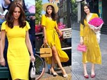 Học theo Kate Middleton và Meghan Markle, các người đẹp Việt cũng đua nhau diện gam màu vàng tươi nắng hè