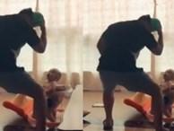 Khi bố là vũ công nhưng lại phải ở nhà trông con