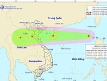 Bão số 3 giật cấp 10 trên biển Đông, hướng thẳng bờ biển Hải Phòng - Hà Tĩnh