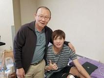 Những hình ảnh của Tuấn Anh từ Hàn Quốc mang tin vui cho người hâm mộ Việt Nam