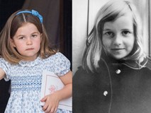 Người hâm mộ phát sốt khi nhận ra Công chúa Charlotte giống Công nương Diana quá cố như hai giọt nước