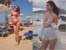 Nghe siêu mẫu Minh Tú chia sẻ bí quyết chọn áo tắm gợi cảm mà không