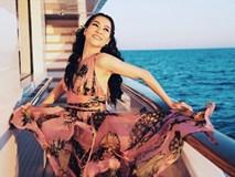 Thu Minh tận hưởng 'chuyến du lịch xa xỉ nhất' hè 2018