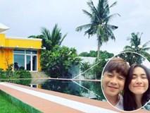 """""""Đột nhập"""" biệt thự nhà vườn đẹp như resort mini mà bạn trai doanh nhân của Hòa Minzy đang ở"""