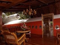 Ngủ lại trong thân máy bay giá 260 USD một đêm ở Costa Rica