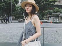 Trang phục dự sự kiện có thể mất điểm, nhưng street style của Văn Mai Hương lại rất trẻ trung và thu hút