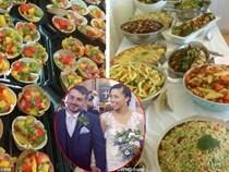 Cặp đôi chỉ tốn 21 triệu đồng đãi tiệc cưới 140 khách nhờ tận dụng thức ăn sắp bỏ đi ở siêu thị