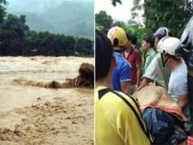 Yên Bái: Núi lở, lũ dâng cao cuốn trôi Phó Bí thư xã và 7 người dân