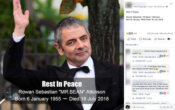 """Hacker tung tin Mr Bean"""" qua đời để phát tán mã độc-1"""