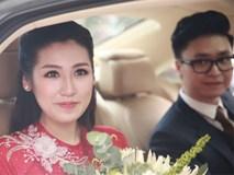 Lễ đón dâu của Á hậu Tú Anh diễn ra gọn gàng, chóng vánh
