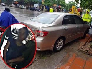 Vụ mẹ giết con và cháu ở HN: Bắt chiếc xe người thân chở thi thể cháu bé về quê