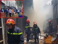 Cháy lớn gần siêu thị Co.op Mart Trường Chinh