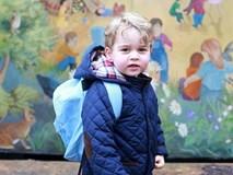 Sinh nhật tròn 5 tuổi, Hoàng tử George được bố mẹ tung ảnh