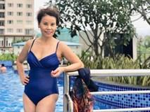 Ở ngưỡng 61 tuổi mà mẹ Hà Hồ vẫn diện đồ bơi gợi cảm, khoe dáng vóc