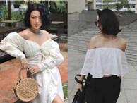 Có gì đặc biệt ở chiếc áo 'mãi không hết mốt' được sao Việt diện suốt cả mùa hè?