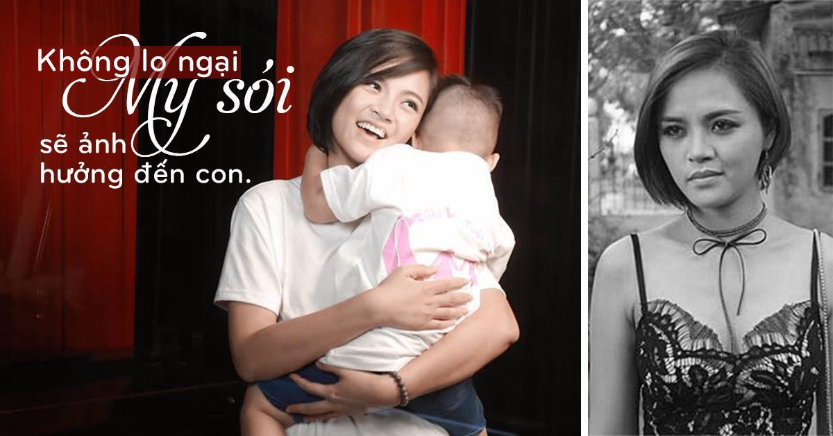 My sói Thu Quỳnh: Không dám nhận mình lột xác thành công sau khi làm mẹ đơn thân-1