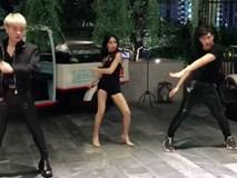 Gia đình Hoa dâm bụt gây cười khi cover vũ đạo 'Ddu Du DDu Du'