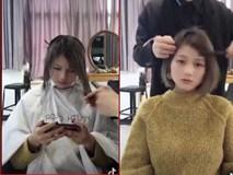Xem clip để thấy các bạn gái nhất định phải đi cắt tóc