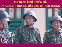 Khi Mr Cần Trô  tham gia huấn luyện quân ngũ