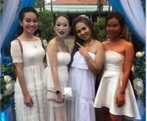 Sự thật bức ảnh ba cô gái trang điểm kinh dị đi ăn cưới bạn thân đang lan truyền trên MXH