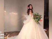 Mãn nhãn với chiếc váy cưới đẹp mê hồn như trong truyện cổ tích