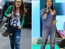 Đùi to, chân ngắn như Mỹ Tâm chọn quần jeans cẩu thả là thảm họa ngay!